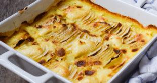 Low Carb falsches Kartoffelgratin