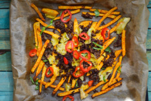 Low Carb Chili Cheese Fries
