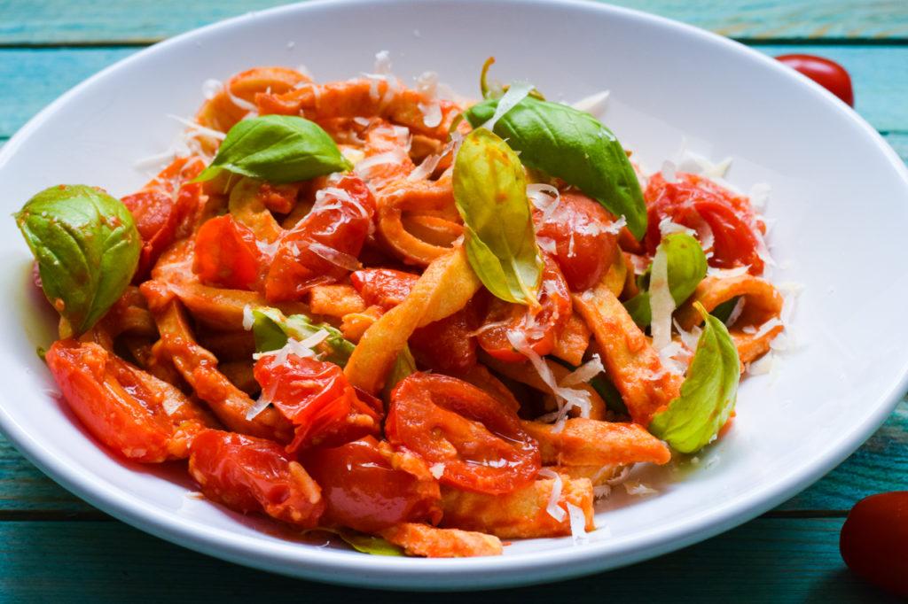 Low Carb Mozzarella Nudeln