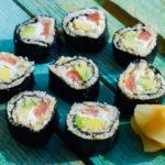 Low Carb Sushi - Wie das Original mit Kochvideo - super lecker!