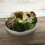 Einfacher und schneller Low Carb Brokkoli-Rahm-Auflauf
