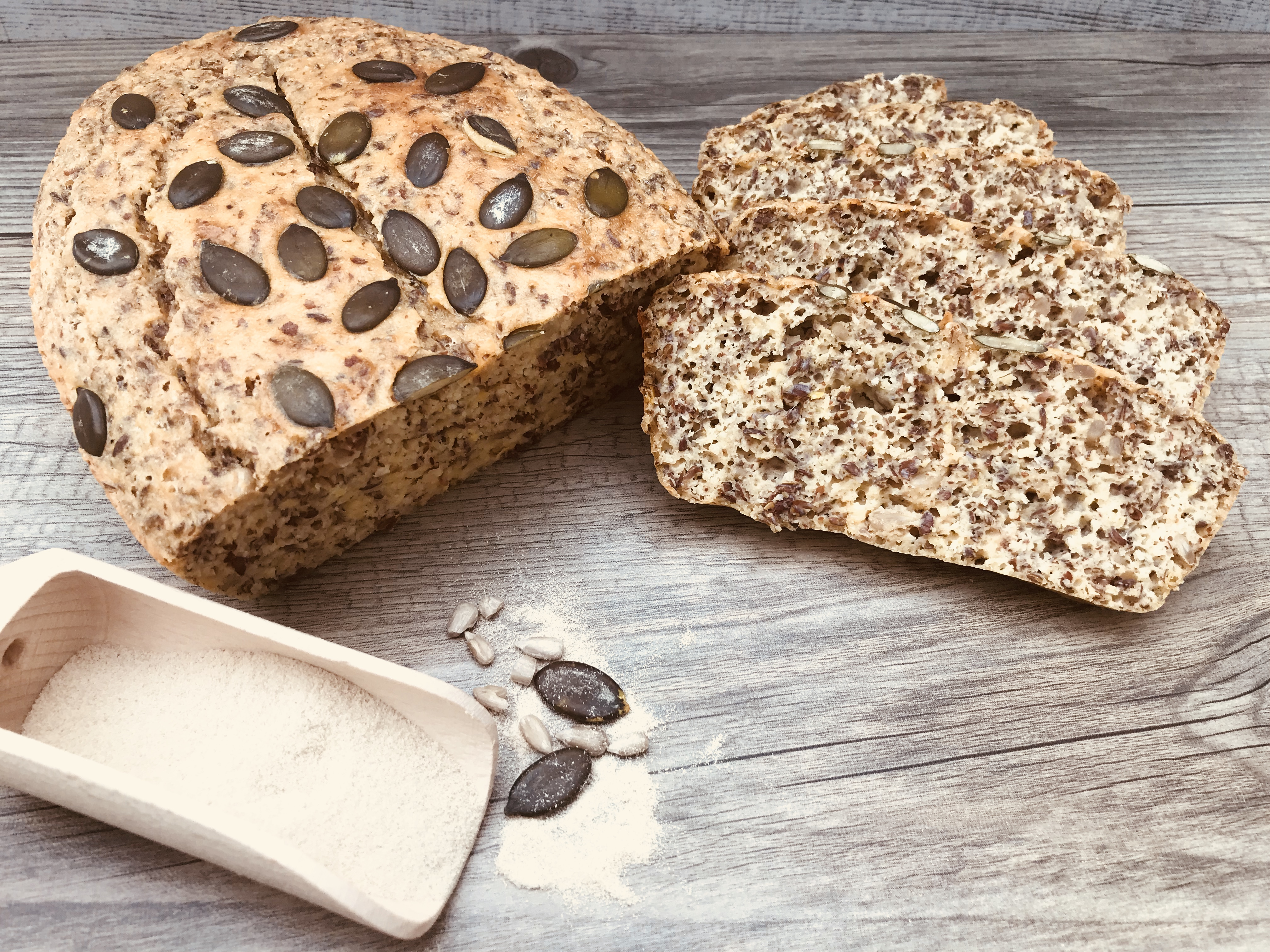 Eiweißbrot Rezept Super Leckeres Einfaches Low Carb Brot