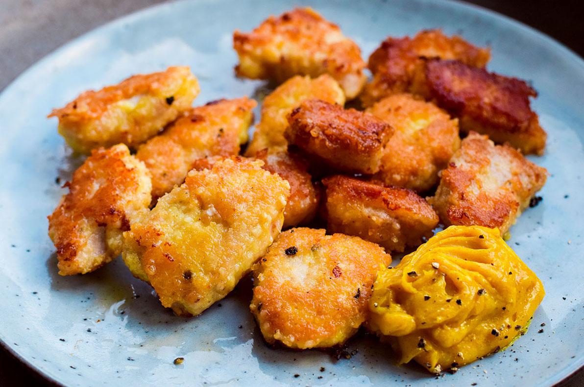 Low Carb Schnitzel Nuggets