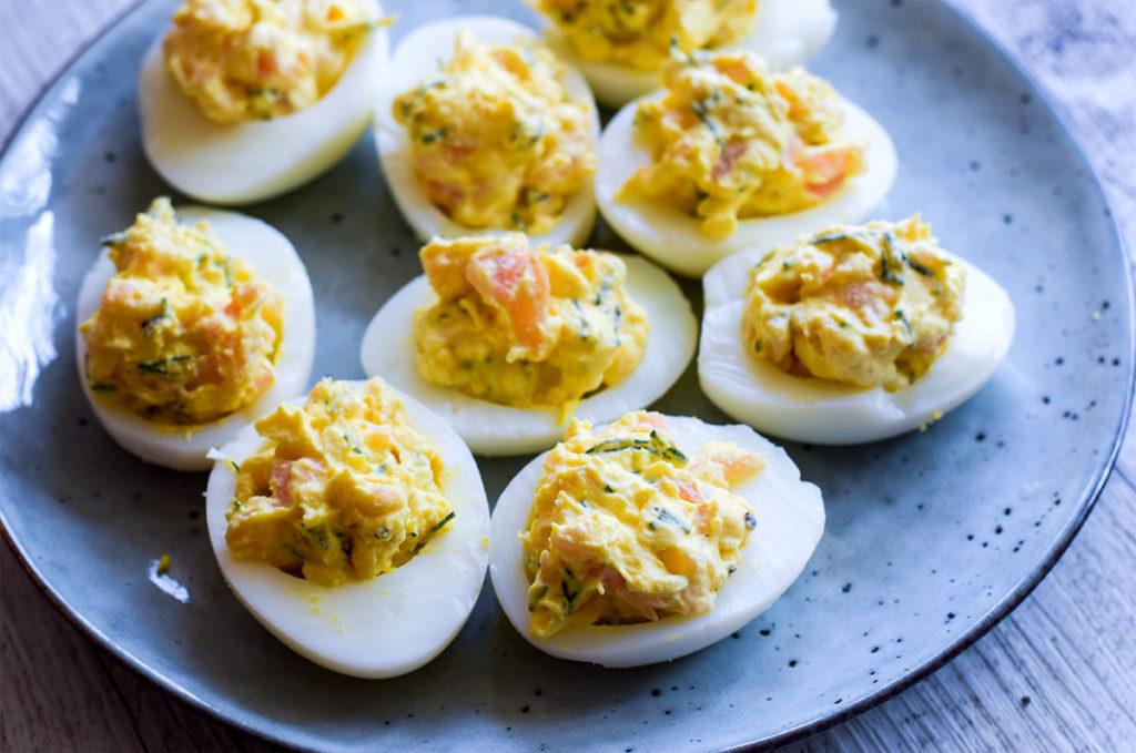 Eier befüllen