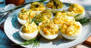 Low Carb Teufels-Eier mit Räucherlachs