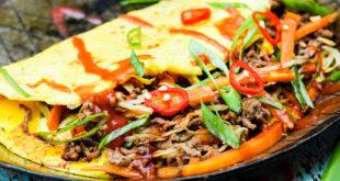 Low Carb Frühlingsrollen Omelett