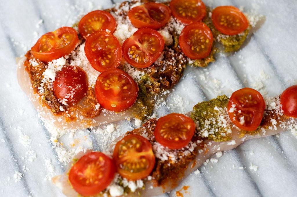 Tomaten dazugeben