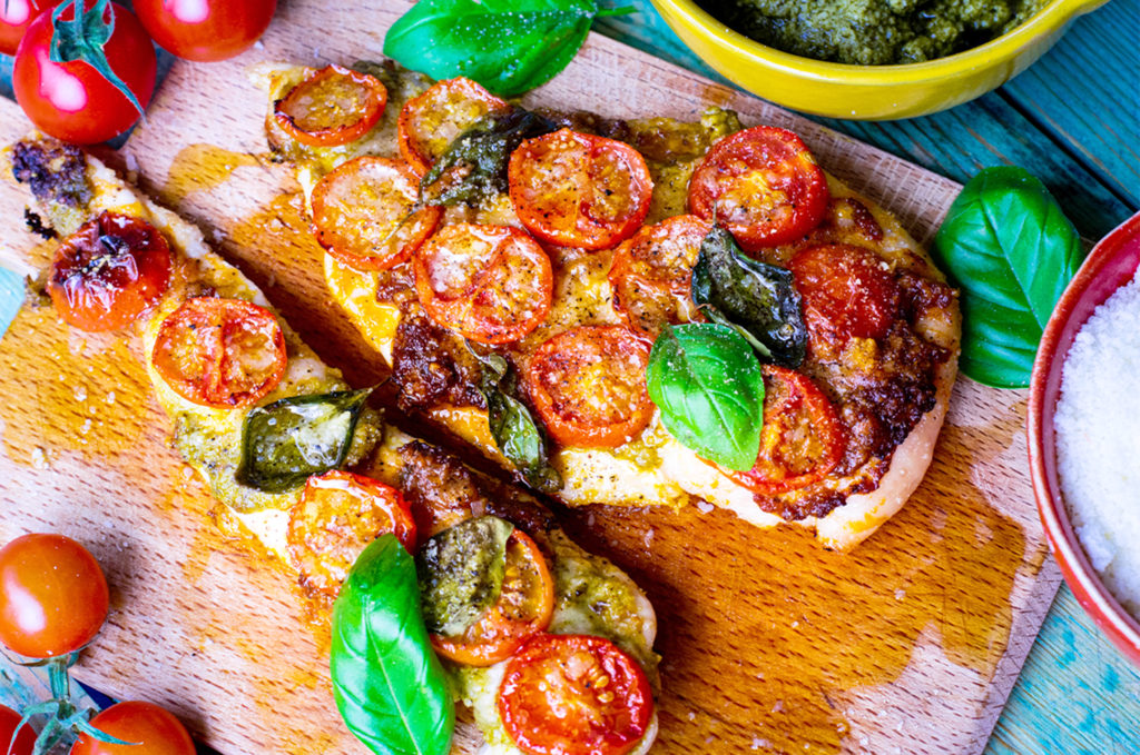 Low Carb Chicken Margherita