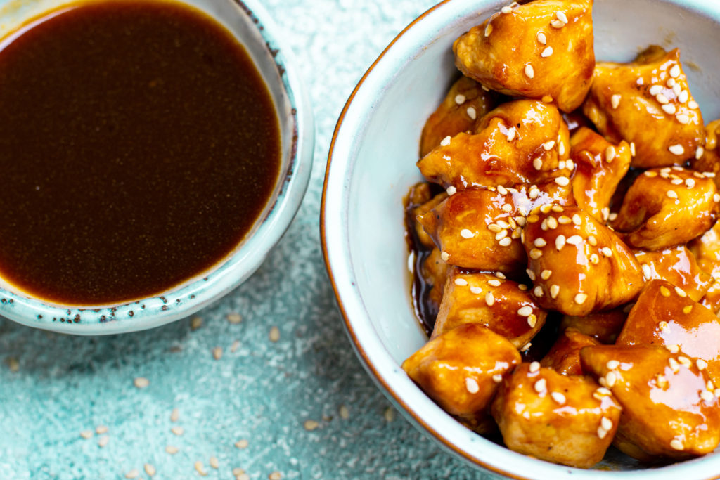 Low Carb Teriyaki Chicken Bites
